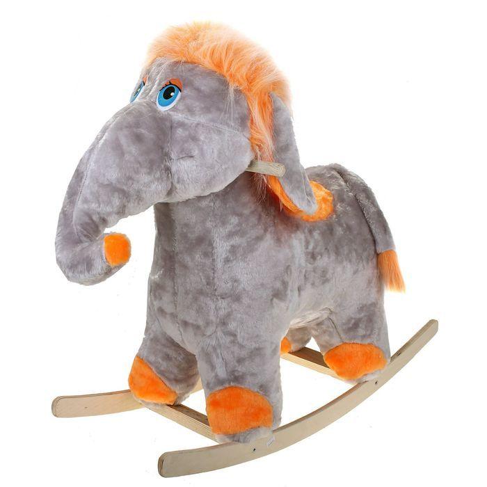 Каталка Аймид 202-А Слоник муз серый 70*77*35 см серый игрушка музыкальная keenway слоник трубач