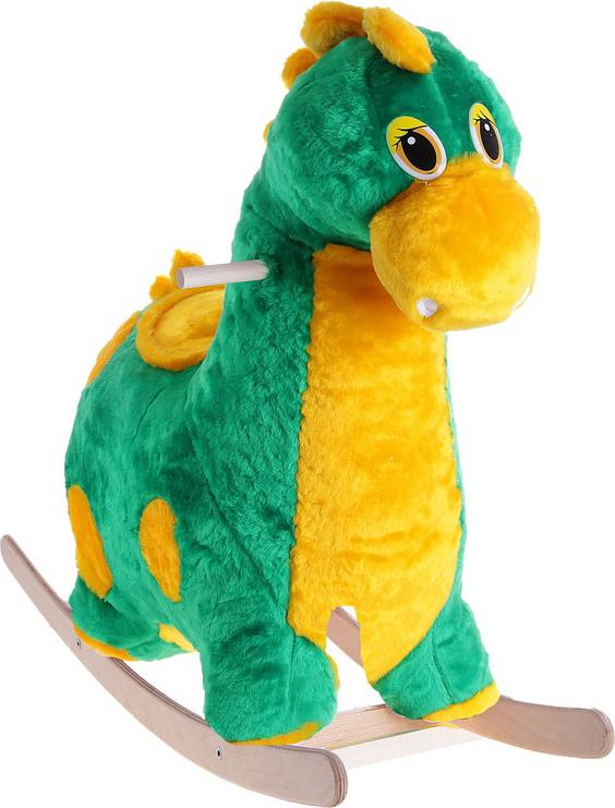 Каталка Аймид 203-А Динозаврик муз зеленый 80*77*35 см