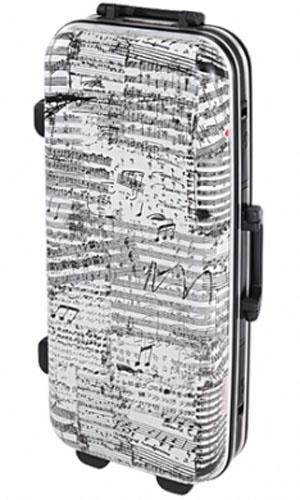 Аксессуар для духовых GL CASES GLC-A(J10)4627161066032Экономичный и надежный кейс для альт-саксофона из пластика ABS. Принт на музыкальную тему в светло-серых оттенках Прочный и легкий алюминиевый каркас и базовая структура из алюминиево-цинкового сплава Экстерьер из пластика ABS, устойчивый к низким температурам Четырехслойная внутренная конструкция Отделка интерьера мягкой тканью черного цвета Отделения для хранения эски, мундштука и тростей Фиксирующаяся алюминиевая ручка на узком торце Два замка-защелки Размер 68.5 x 32.5 x 17 см Вес 3.6 кг