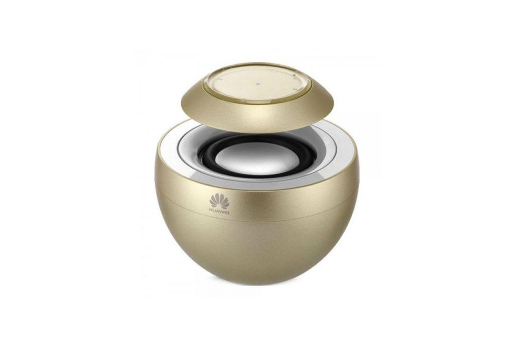 Беспроводная колонка Huawei Портативная Bluetooth колонка White (AM08), золотой колонка портативная marshall kilburn cream