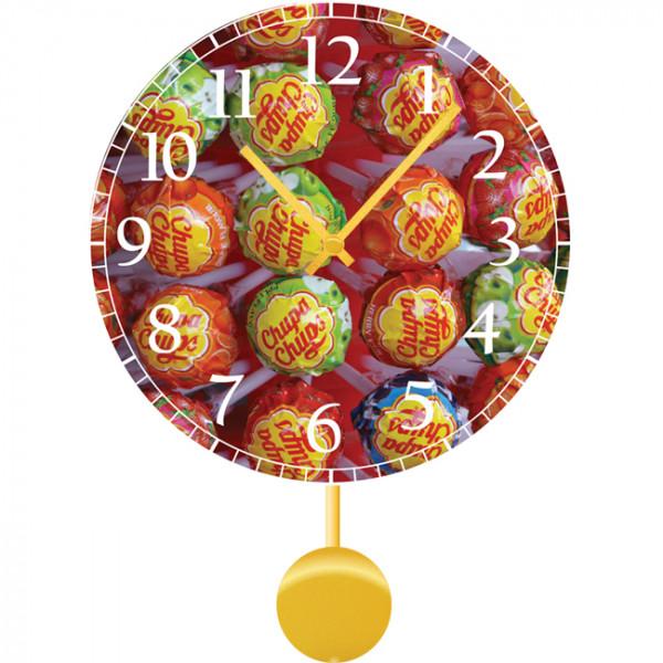 Настенные часы Kids Dream 40112224011222Механизм: Кварцевый; Корпус: Дерево; Размер: Диаметр 40 см;Рисунок: Чупа-чупсы