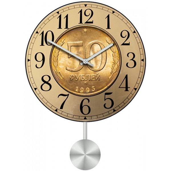 Настенные часы Kitch Clock 40113574011357Механизм: Кварцевый; Корпус: Дерево; Размер: Диаметр 40 см