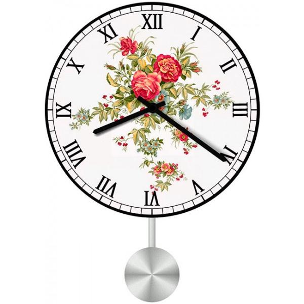 Настенные часы Kitch Clock 4011029 пользовательские обои mural 3d wall mural природные пейзажи водопады и зеленое дерево обои для рабочего стола нетканые настенные пок