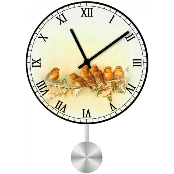 Настенные часы Kitch Clock 4011049 пользовательские обои mural 3d wall mural природные пейзажи водопады и зеленое дерево обои для рабочего стола нетканые настенные пок