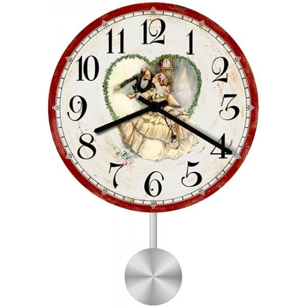 Настенные часы Kitch Clock 3511091 часы настенные любовь 95838