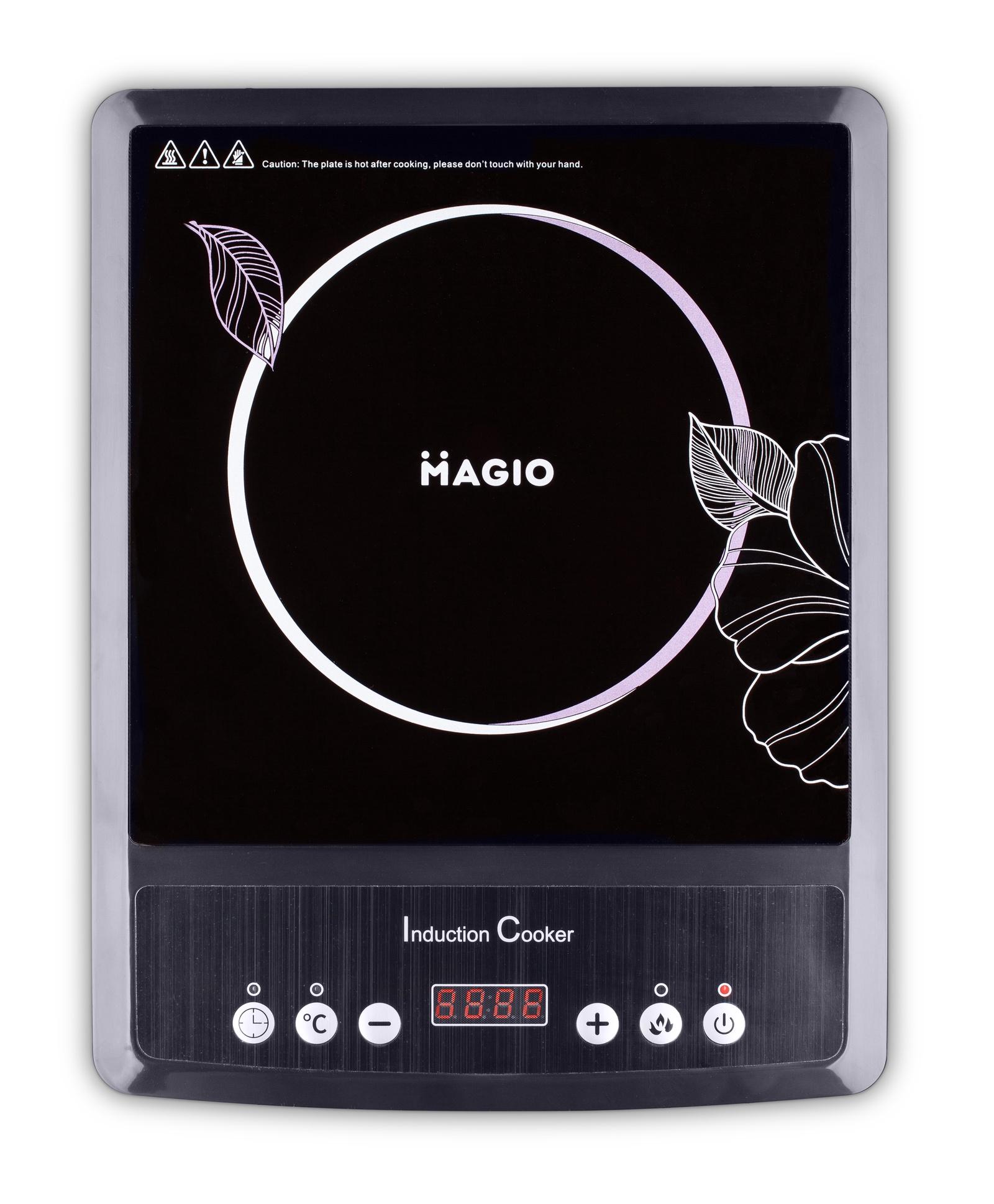 Настольная плита Magio индукционная LED-дисплей, черный