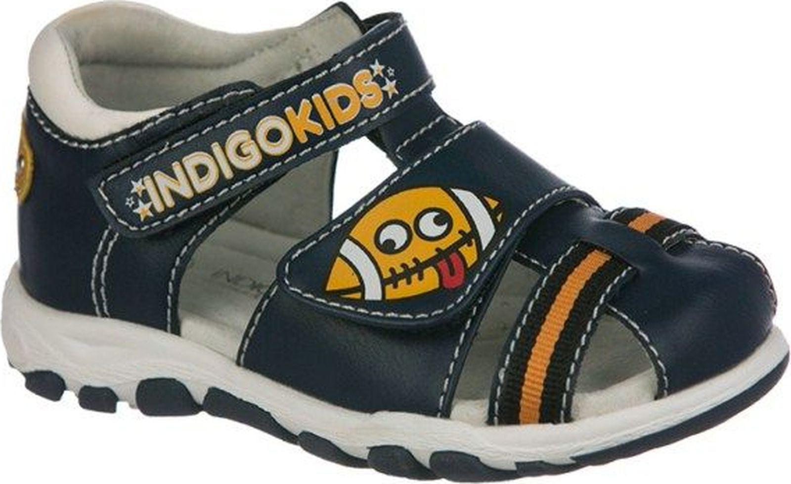 Сандалии Indigo Kids дутики для мальчика indigo kids цвет черный 71 506a 12 размер 35