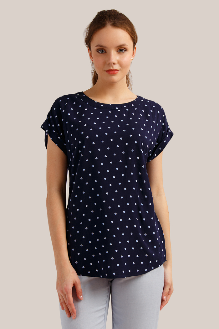 Блузка Finn Flare блузка женская finn flare цвет красный w18 12030 300 размер m 46