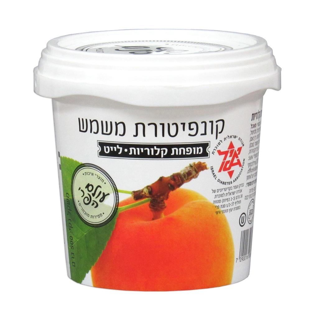 Варенье Fruit World 02472 абрикосовое диабетическое без сахара 0.5 кг Банка, 500