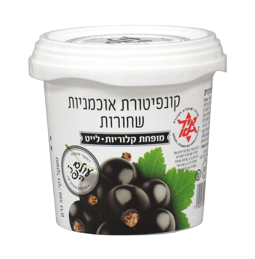 Варенье Fruit World 02470 из черной смородины диабетическое без сахара 0.5 кг Банка, 500