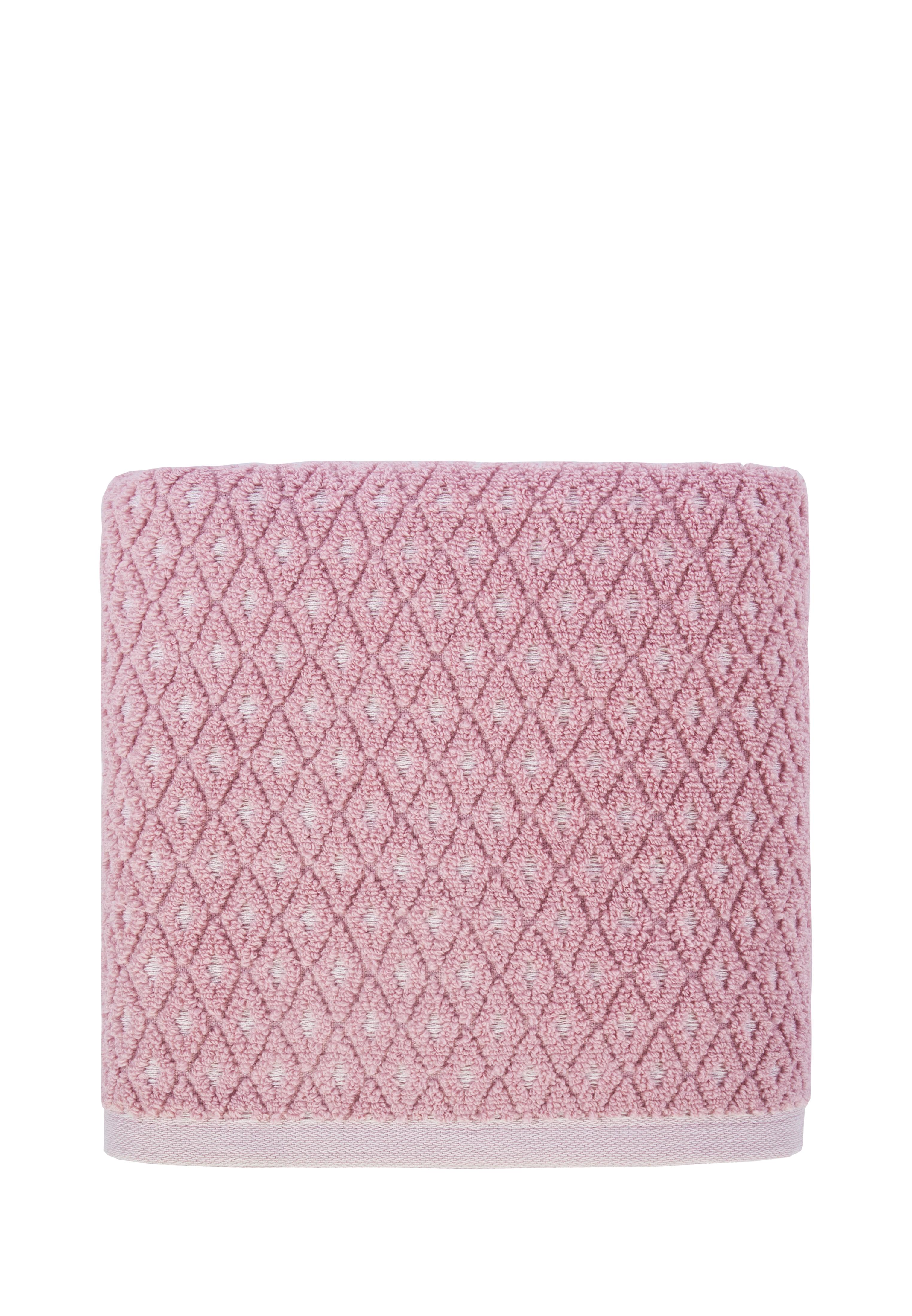 Фото - Полотенце банное Arya home collection Finn розовый, розовый полотенца arya полотенце жаккард arya levi бежевый 70 140 см