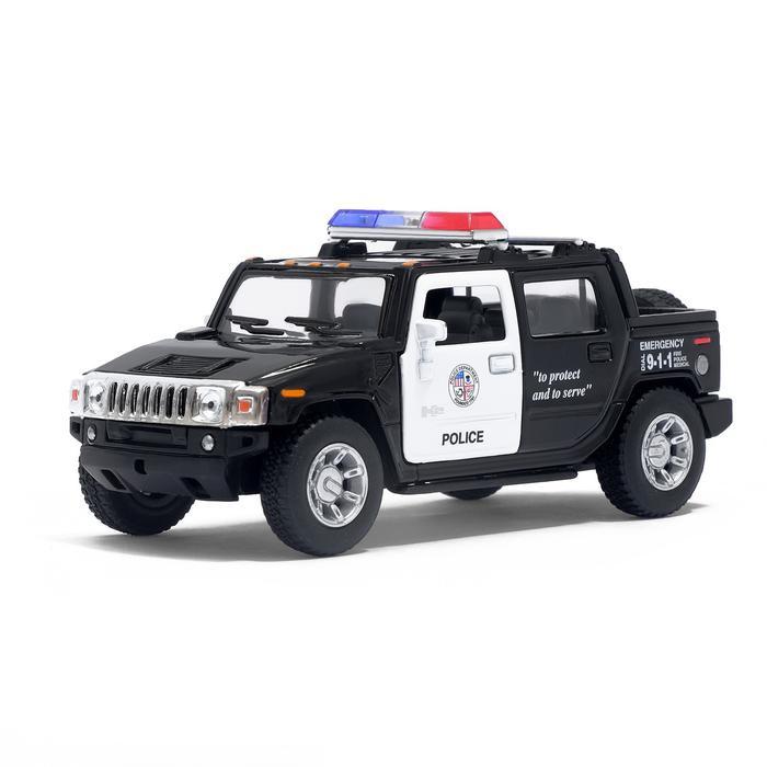 Машинка металлическая модель Hummer H2 SUT (Police)