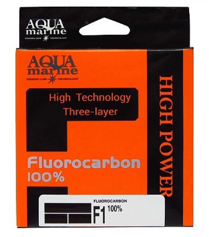 Леска для рыбалки Aqua marine УТ000029886, прозрачный леска aqua fc ultra fluorocarbon 100