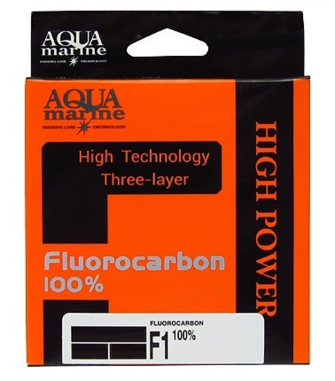 Леска для рыбалки Aqua marine УТ000029882, прозрачный леска aqua fc ultra fluorocarbon 100