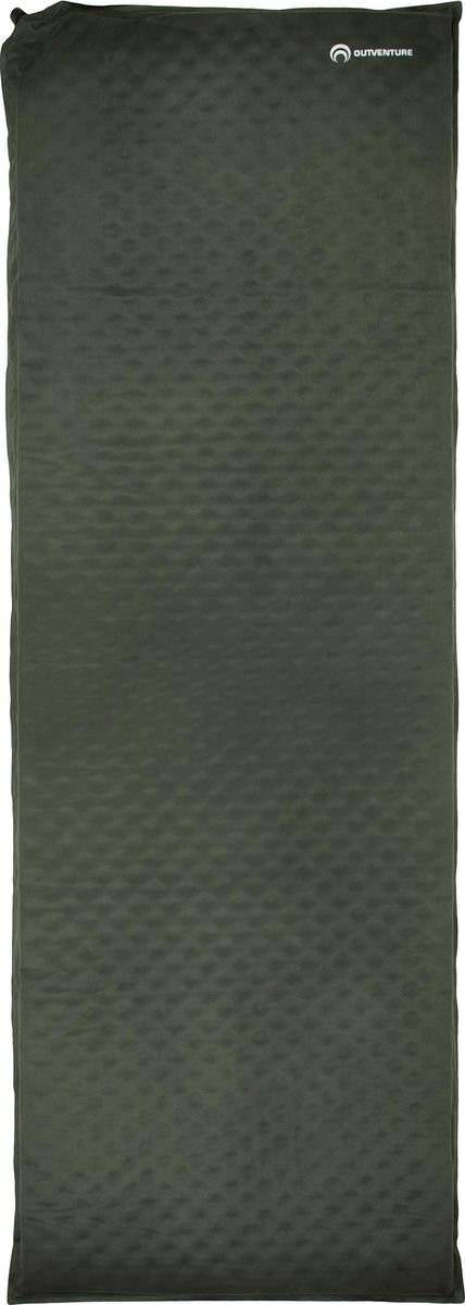 Матрас самонадувающийся Outventure Self-Inflating Mat, EOUOM003G4, болотный, 195 х 65 х 6 см
