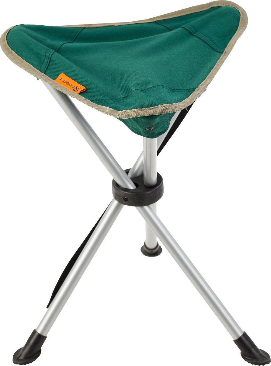 Стул-табурет Outventure 3-Legged Stool Chair, EOUOC007U2, зеленый велопарковка на 3 места 700х300х255мм