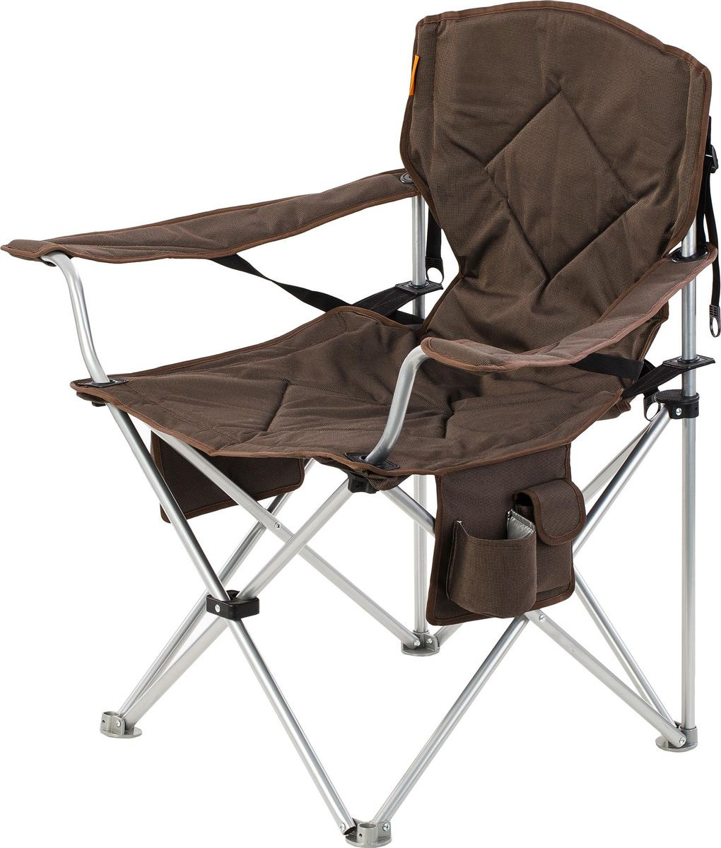 Кресло кемпинговое Outventure Camping Chair With Adjustable Backrest, IE402T10, бежевый