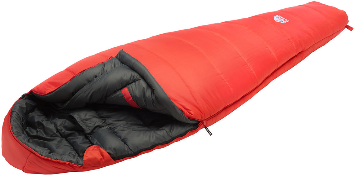 Спальный мешок TREK PLANET Norge, зимний, левая молния, красный