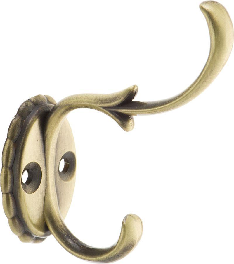 Фото - Крючок мебельный Kerron, KR 0111 AB, бронза, 66 х 29 х 60 мм крючок мебельный kerron kr 0101 ab бронза 70 х 73 х 20 мм