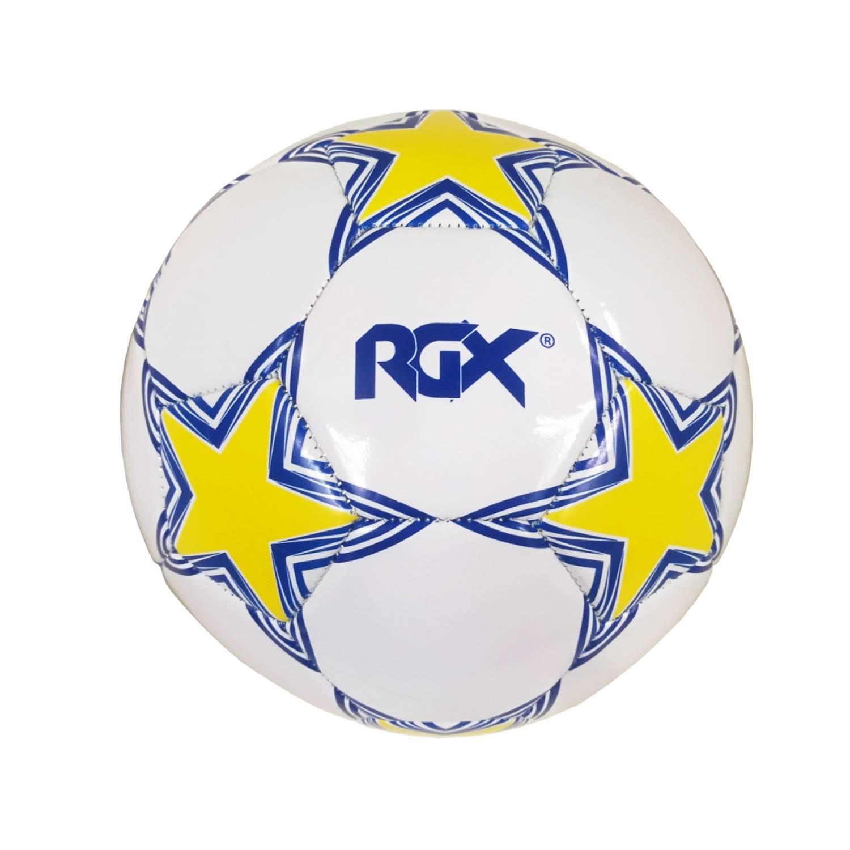 Мяч футбольный RGX FB-1710, белыйRGX-FB-1710-01Футбольный мяч. Подходит для игры на любых поверхностях. Рекомендован для любительской игры. Размер: 4. Материал: ПВХ 2,7 мм. Количество слоев: 1. Вес: 380 гр. Камера: резина. Сшивка: машинная. Упаковка: полиэтиленовый пакет. Страна производитель: Китай.
