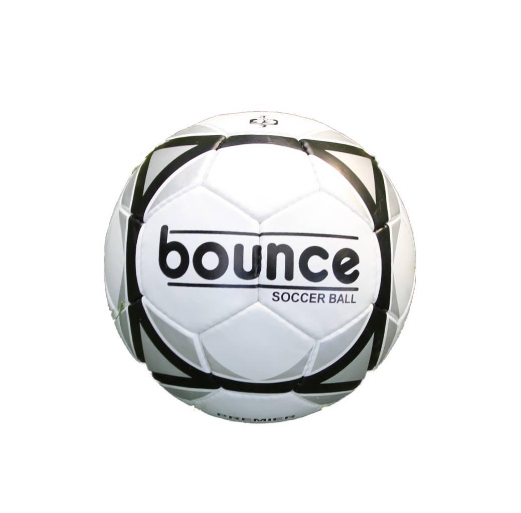Мяч футбольный Bounce FM-003, белый