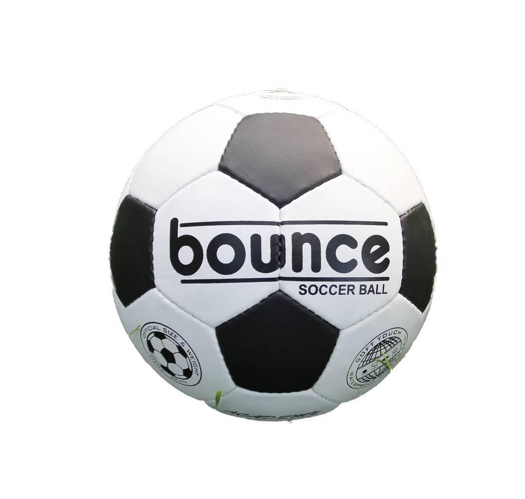 Мяч футбольный Bounce FM-005, белый, черный