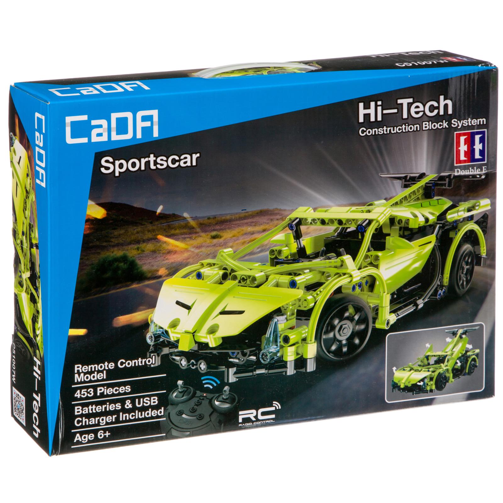 Пластиковый конструктор FullFunc Машина на радиоуправлении Sport Car, М93773