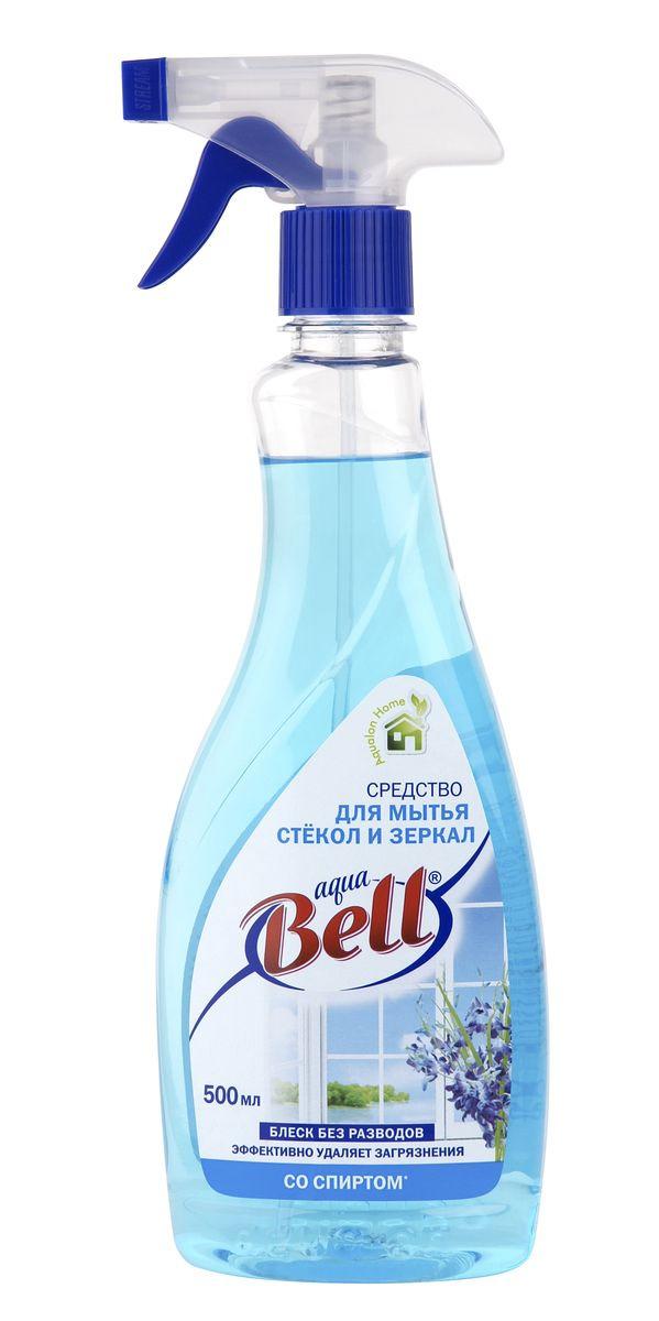 Средство для чистки стекла AquaBell, со спиртом, 500 мл