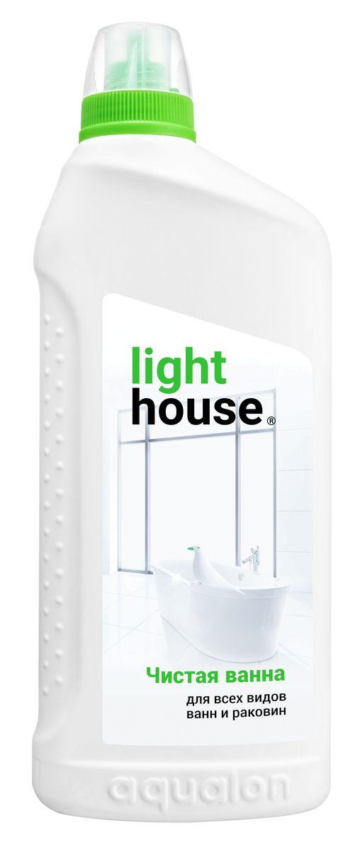 Средство для ванной и туалета LightHouse Чистая ванна, 750 мл