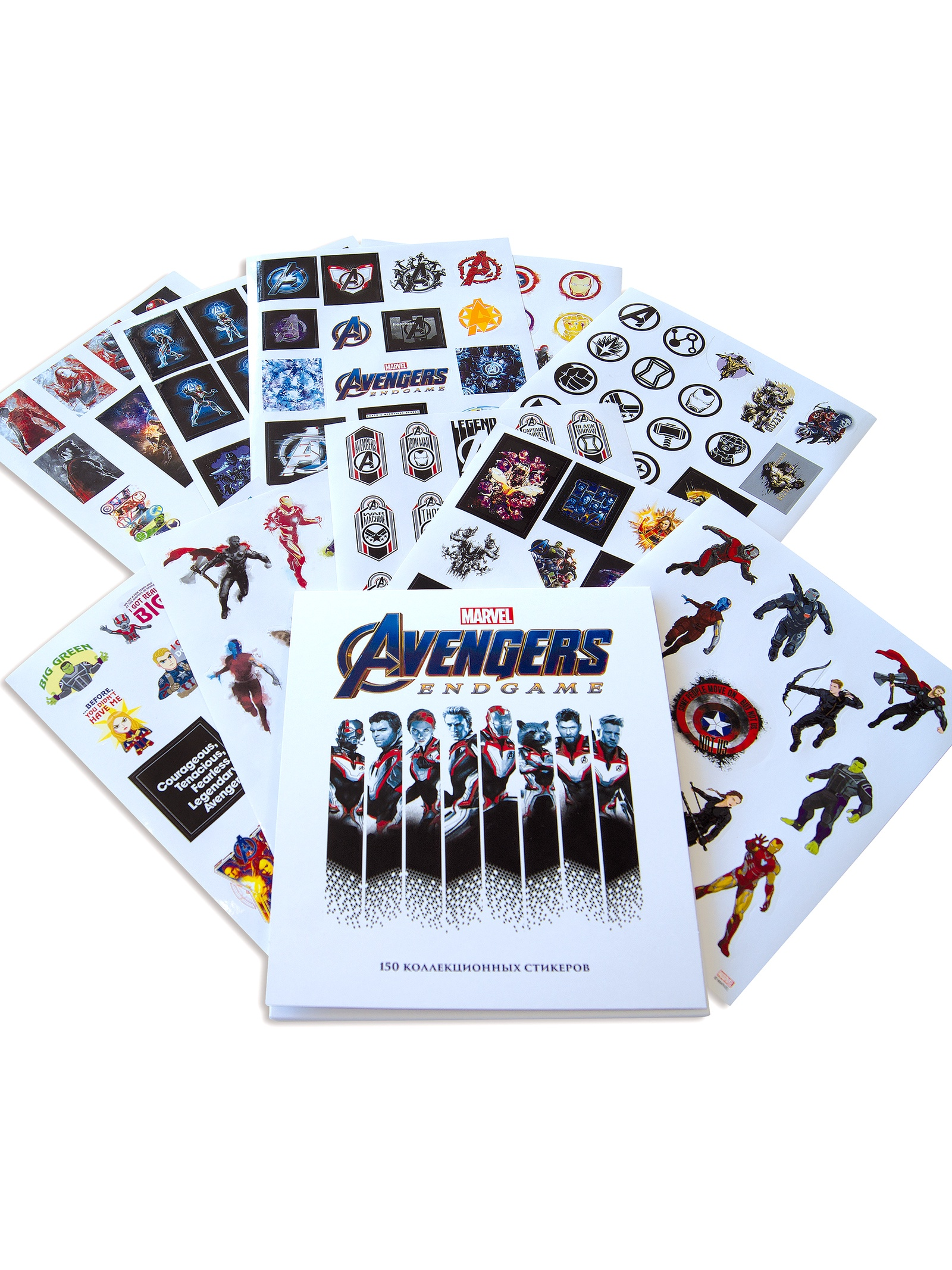 Набор наклеек Marvel Мстители