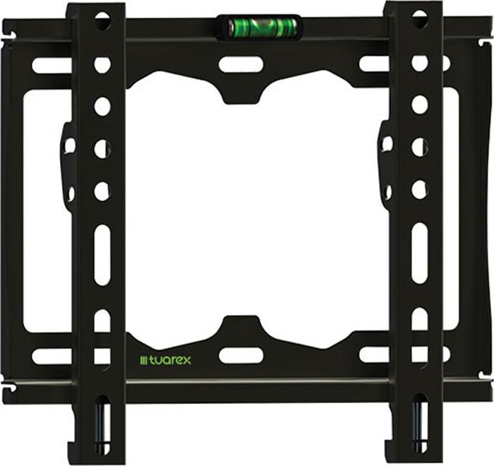 цена на Кронштейн Tuarex OLIMP-115 black, настенный для TV 15-48, от стены 25мм, макс нагр 35кг, VESA 200x200