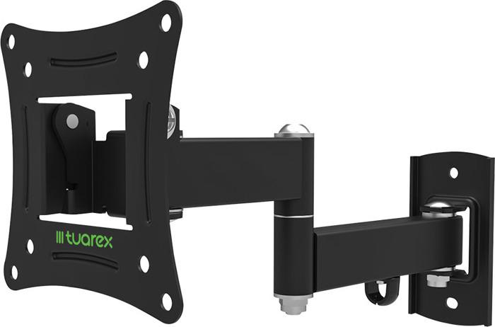 лучшая цена Кронштейн Tuarex ALTA-104 black, настенный для TV 10
