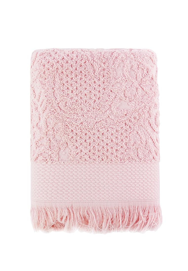 цена Полотенце банное Arya home collection Faralya розовый, розовый онлайн в 2017 году