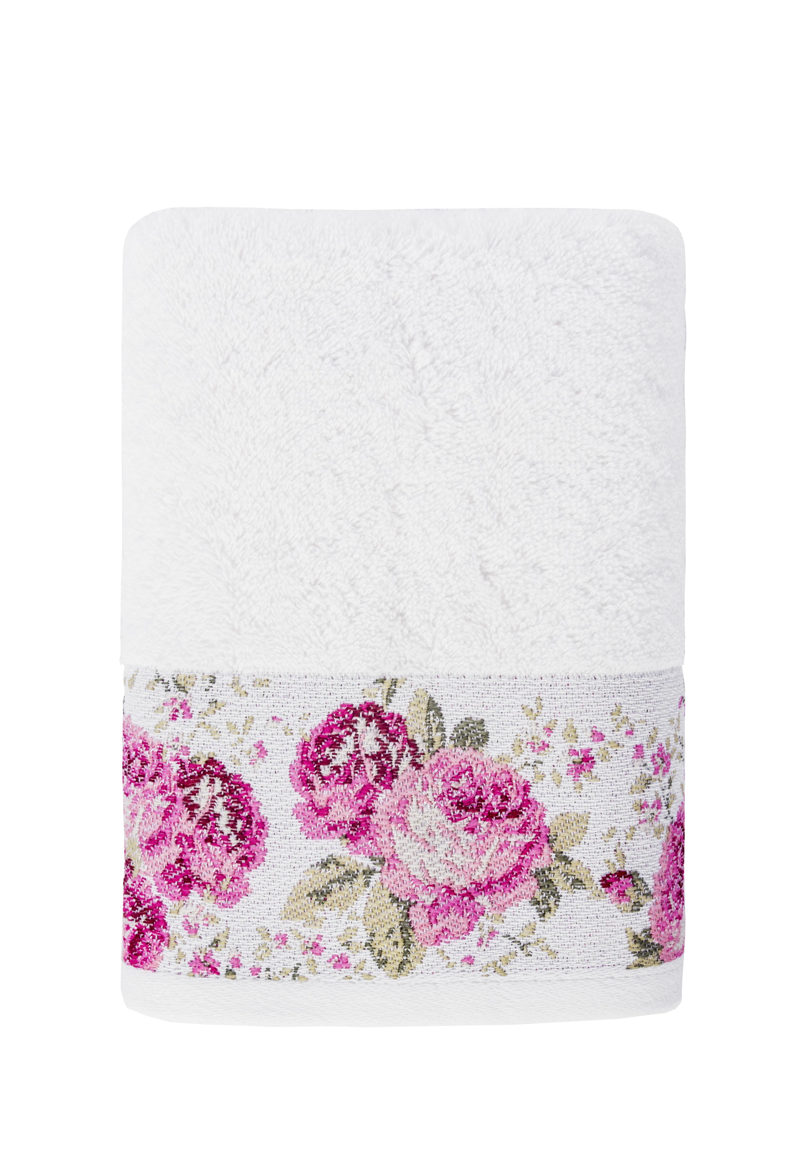 Полотенце банное Arya home collection Desima кремовый, кремовый полотенца arya полотенце desima цвет пурпурный 70х140 см