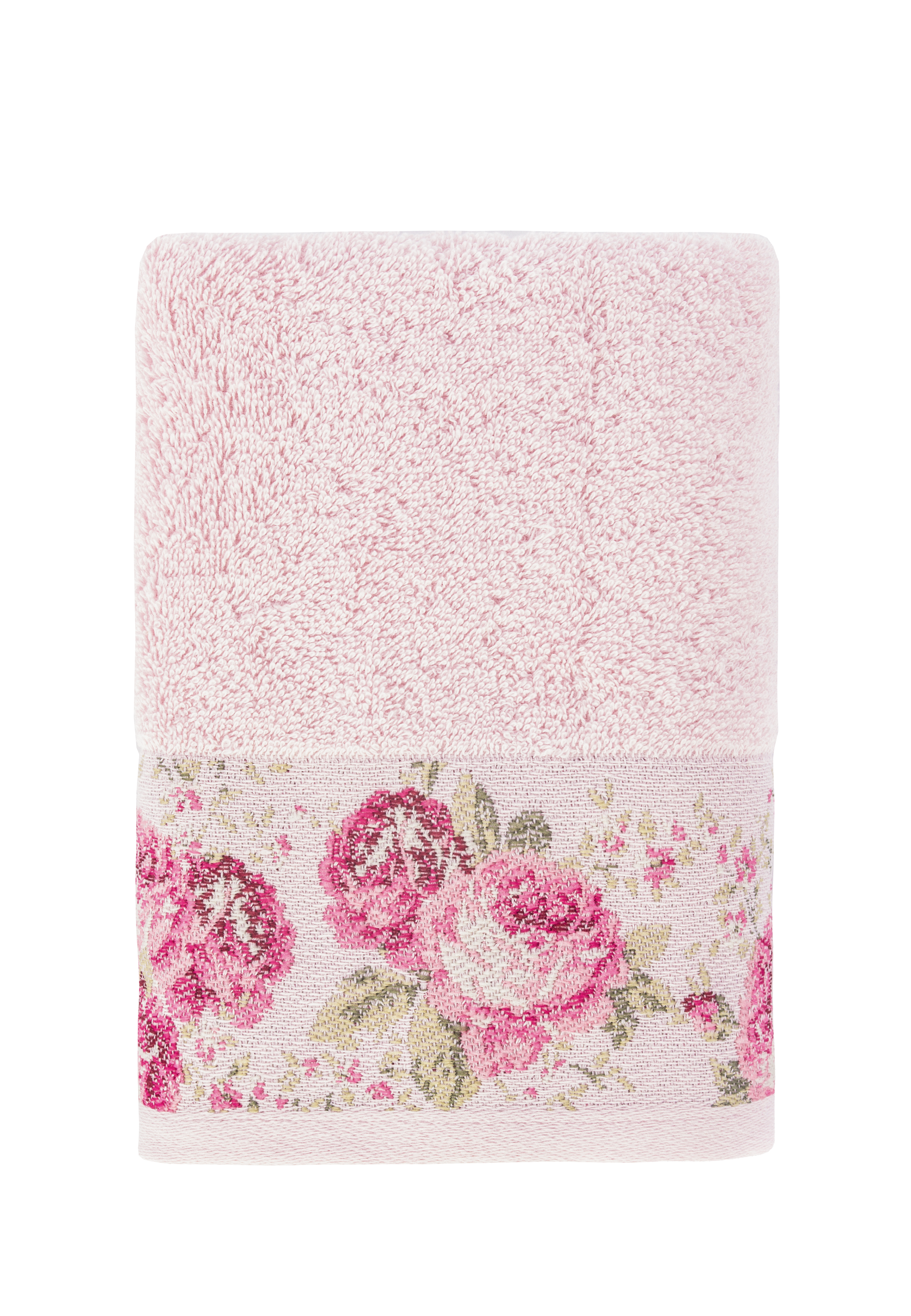 Полотенце банное Arya home collection Desima розовый, розовый полотенца arya полотенце desima цвет пурпурный 70х140 см