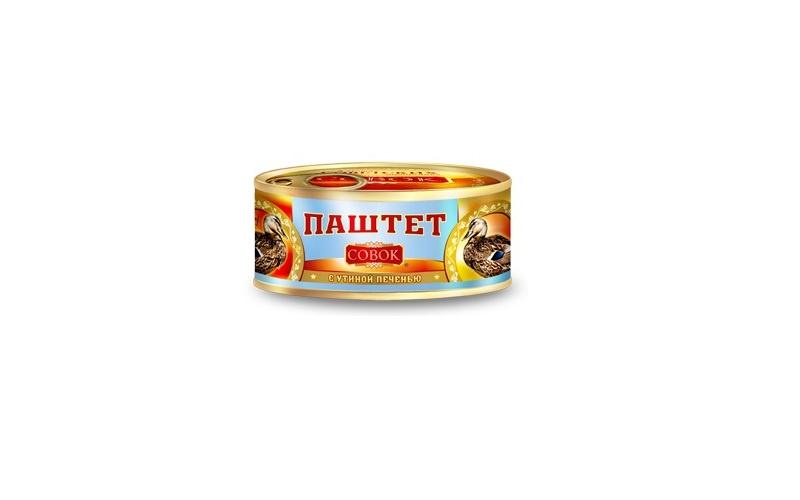 Мясные консервы Совок С0898 Жестяная банка, 190