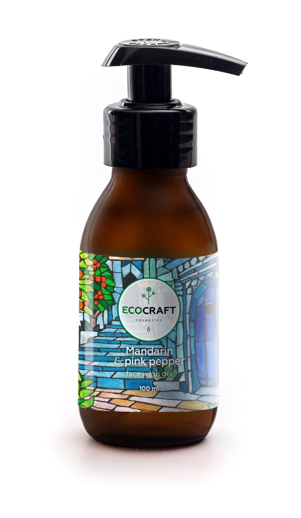 Гель для умывания для сухой и чувствительной кожи Манго и розовый имбирь, 100 мл, ECOCRAFT ECOCRAFT Cosmetics