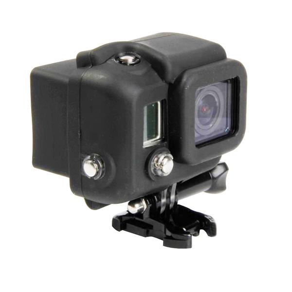Кейс для камеры Goodchoice GoPro Hero 3+/4, черный поворотный зажим для быстрого крепления для gopro hero 2 3 3 4 рюкзак рюкзак нью