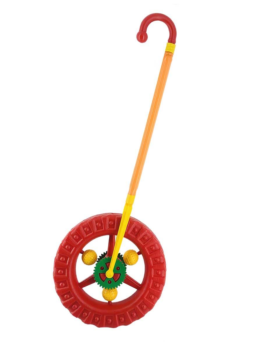 Каталка Colorplast 1-014/красный красный каталка colorplast детская 2 005 салатовый
