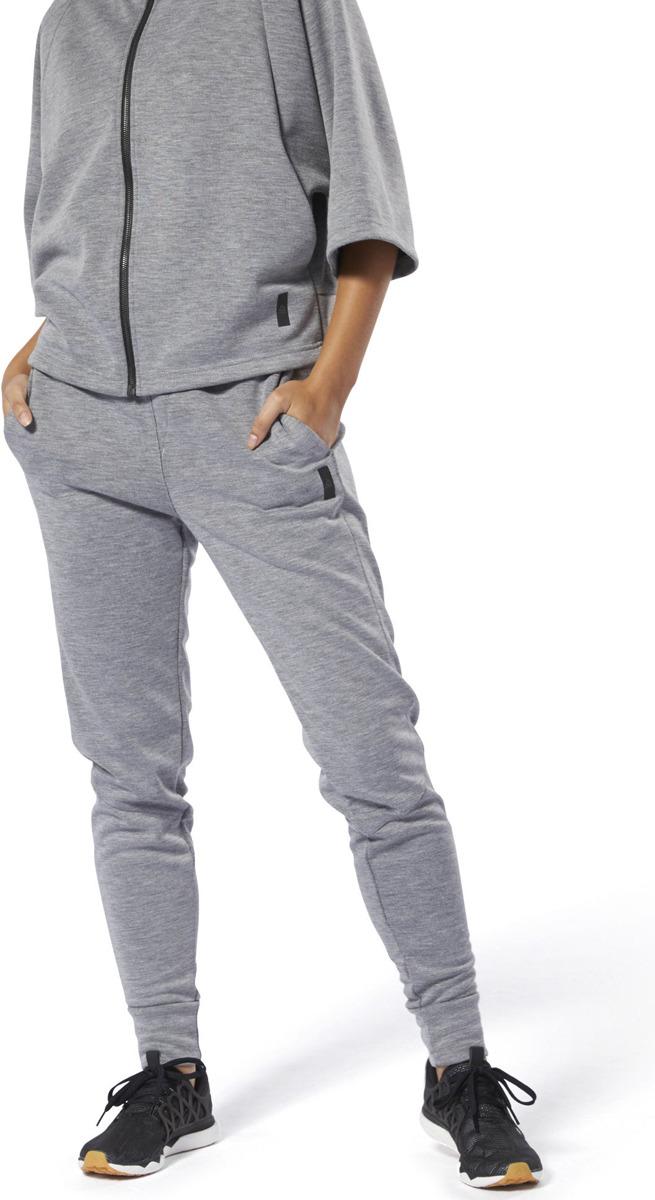 Брюки Reebok Ts Knit Pant брюки женские converse sweater knit pant цвет черный 10007186001 размер s 44