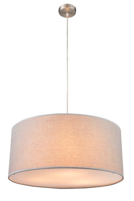 лучшая цена Подвесной светильник Globo New 15185H1, серый