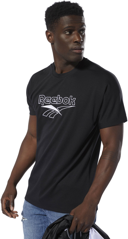 Фото - Футболка Reebok Cl V Unisex Tee plus v neck marled knit tee