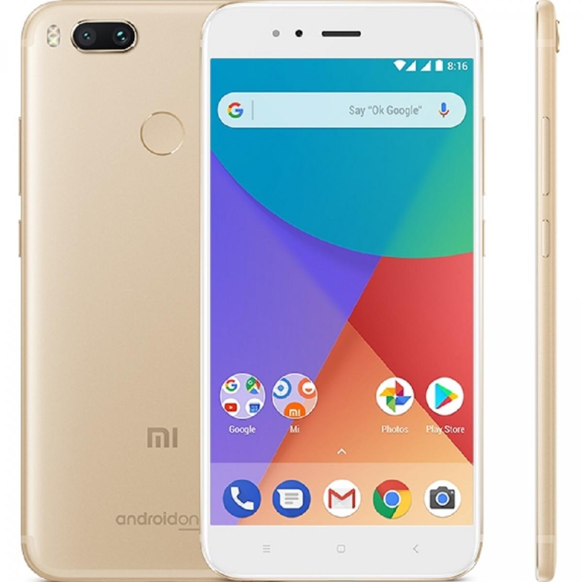 Смартфон Xiaomi Mi A1 3/32GB gold смартфон xiaomi mi a1 32gb gold