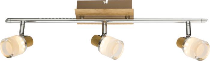 Настенно-потолочный светильник Globo New 56000-3, серый металлик спот globo alonis gb 56000 2