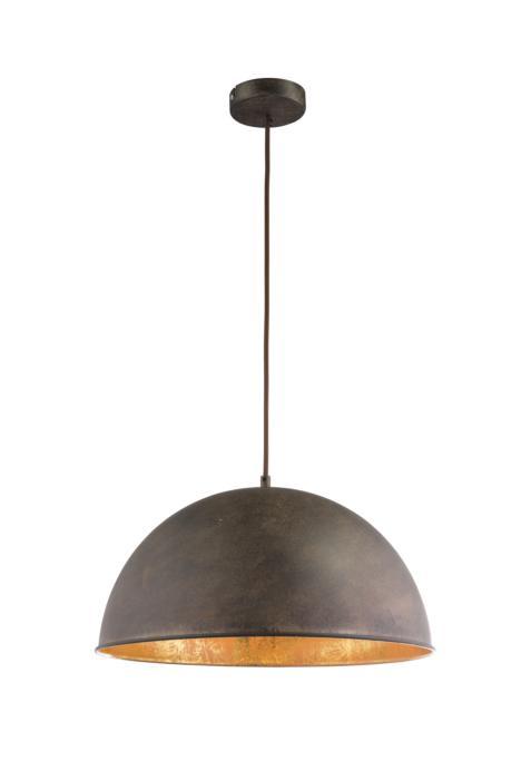 Подвесной светильник Globo New 58307H, золотой58307HПодвесной светильник Globo 58307H серии Xirena I в стиле лофт подчеркнет стиль помещения. Размеры (Диаметр х Высота) 410х1200 мм.