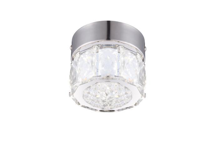 Встраиваемый светильник Globo New 49350, серый металлик globo бра globo amur 49350 1w