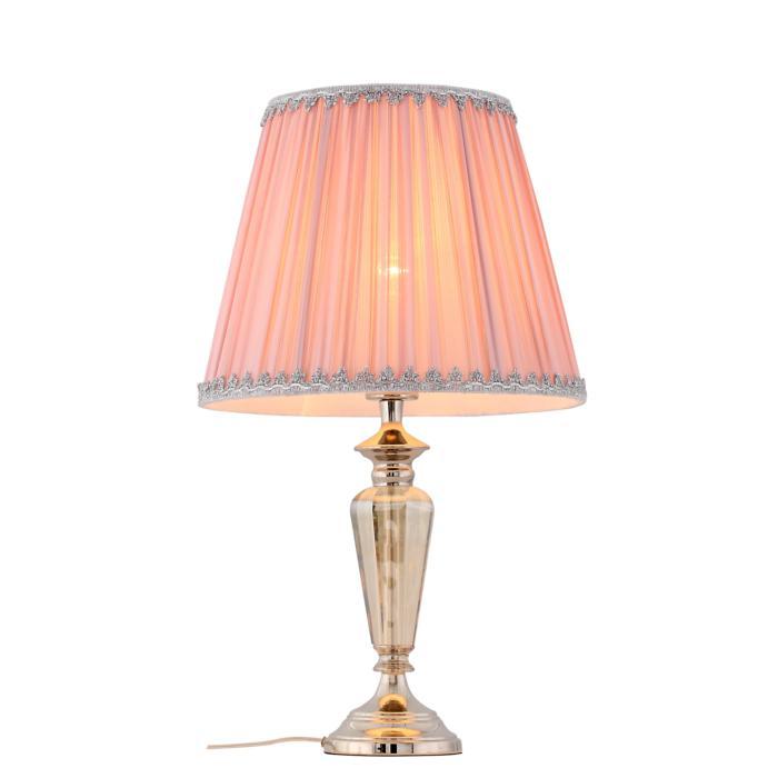 Настольный светильник St Luce SL965.104.01, серый металликSL965.104.01Декоративная настольная лампа St Luce SL965.104.01 серии Vezzo в современном стиле освежит ваш интерьер. Размеры (Диаметр х Высота) 320х540 мм.