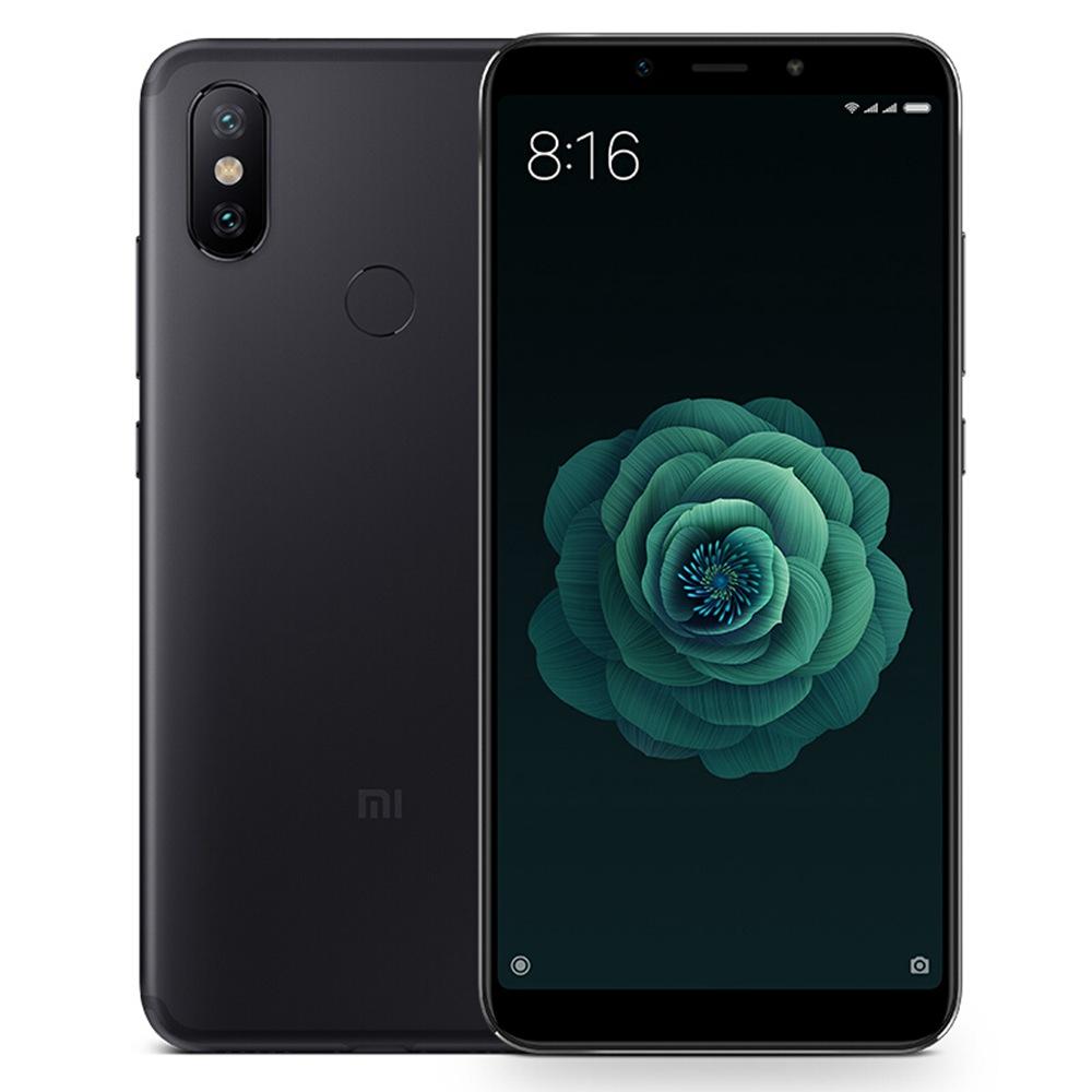 купить Смартфон Xiaomi Mi A2 4/64GB black по цене 13675 рублей