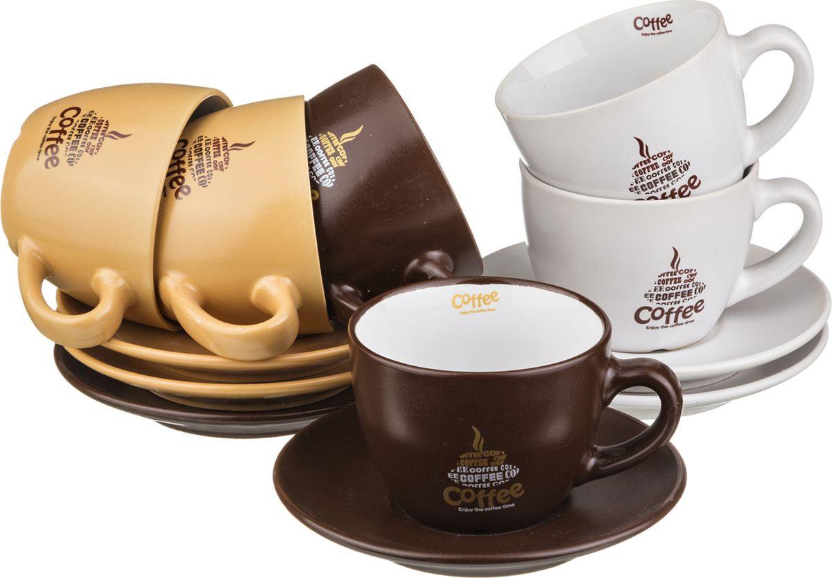 Набор чайный Lefard, 756-097, мультиколор, 250 мл, 12 предметов набор чайный lefard летний микс 6 12 250мл фарфор