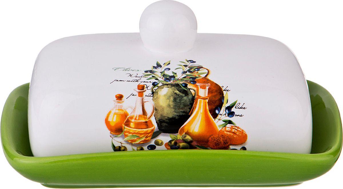 Масленка Lefard Греческая оливка, 230-203, мультиколор